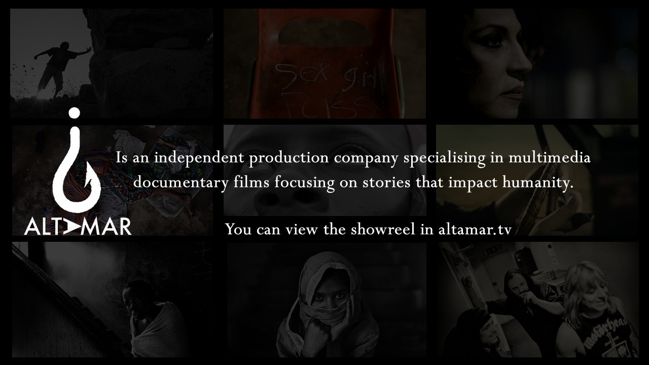 ALTAMAR is an independent production company specialising in multimedia documentary films focusing on stories that impact humanity.